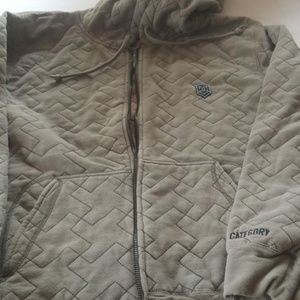 DC Quilted  Hoodie
